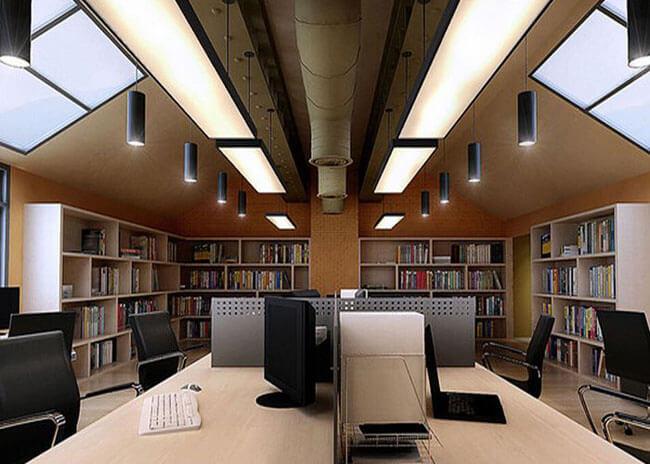 办公空间灯光设计 办公室照明设计-孙氏设计