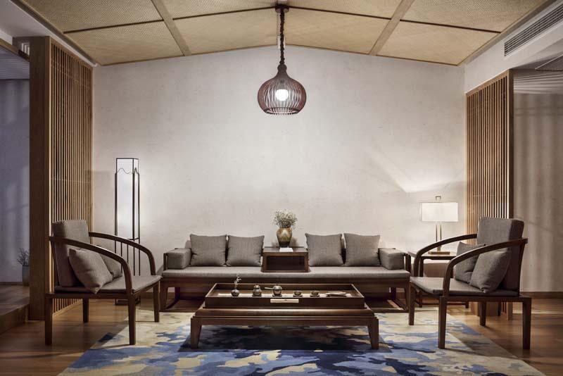 仿古中式民宿灯光设计方案 中国风民宿客栈照明设计案例