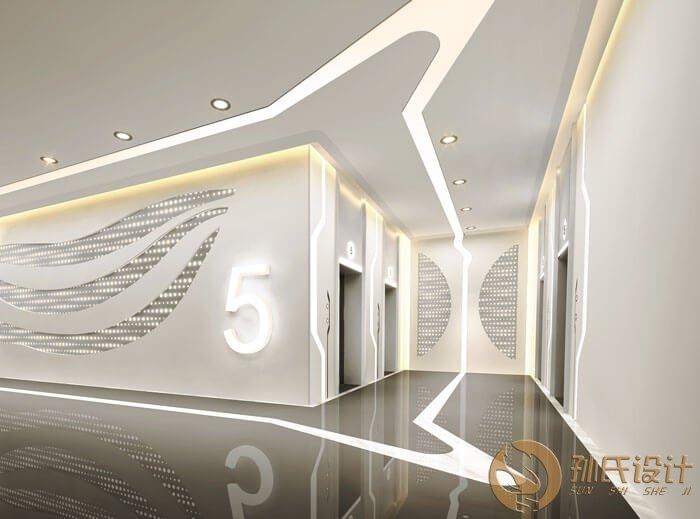 商场电梯间照明设计图片