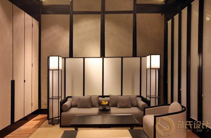 旅游區民宿酒店客戶休息區燈光設計方案