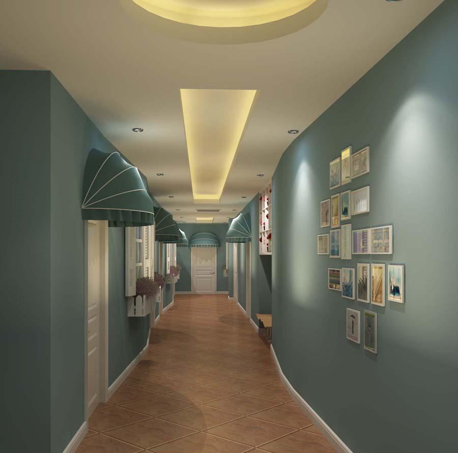 五星級酒店客房走廊照明設計|高檔酒店客房走廊燈光設計方案